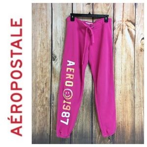 💸Aeropostale pink sweatpants size M